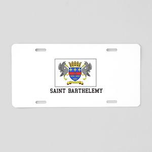 Saint Barthelemy Aluminum License Plate