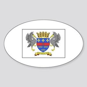 Saint Barthelemy Flag Sticker