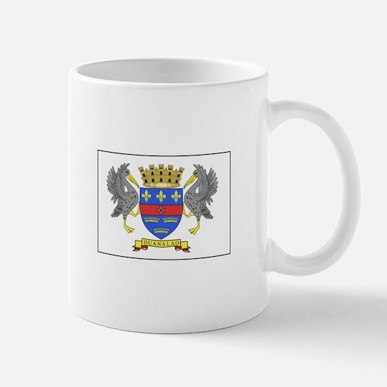Saint Barthelemy Flag Mugs