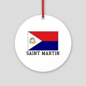 Saint Martin Ornament (Round)