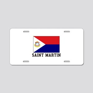 Saint Martin Aluminum License Plate