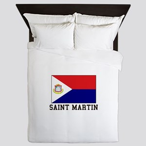 Saint Martin Queen Duvet