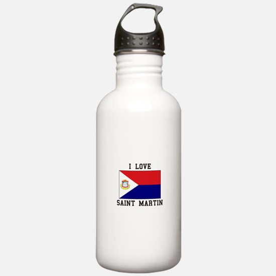 Love Saint Martin Water Bottle