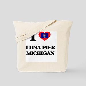 I love Luna Pier Michigan Tote Bag