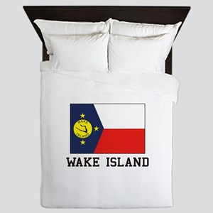 Wake Island Queen Duvet
