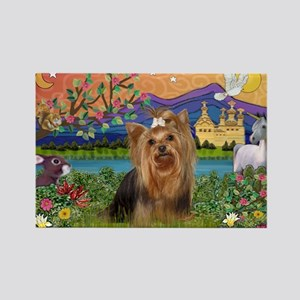 Fantasy/Yorkie (#7) Rectangle Magnet