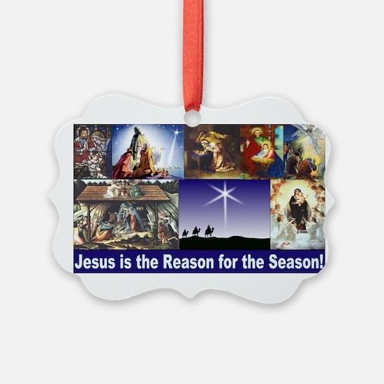 Christmas Nativity Medley Ornament
