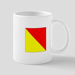 "ICS Flag Letter ""O"" Mugs"