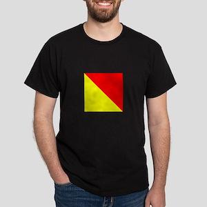 "ICS Flag Letter ""O"" T-Shirt"
