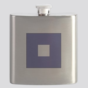 "ICS Flag Letter ""P"" Flask"