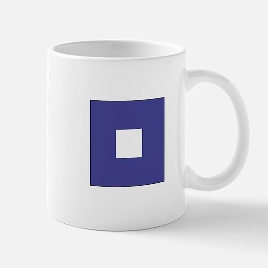 "ICS Flag Letter ""P"" Mugs"