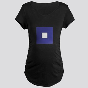 "ICS Flag Letter ""P"" Maternity T-Shirt"