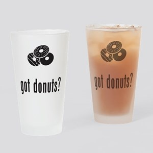Donut Drinking Glass