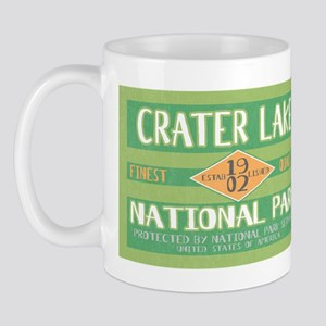 Crater Lake National Park (Retro) Mug