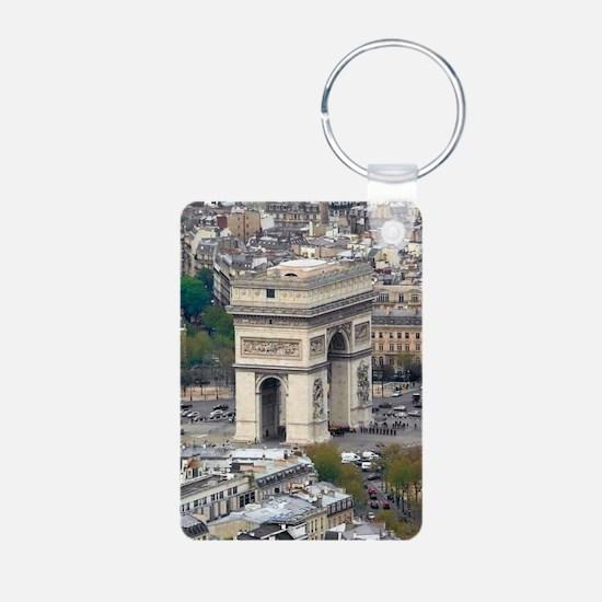 PARIS GIFT STORE Aluminum Photo Keychain