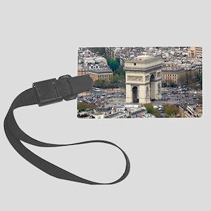 PARIS GIFT STORE Large Luggage Tag