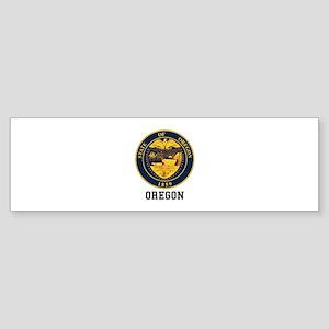 Oregon Seal Bumper Sticker
