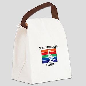 Saint Petersburg Canvas Lunch Bag