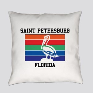 Saint Petersburg Everyday Pillow