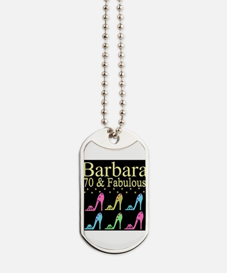 GORGEOUS 70TH Dog Tags