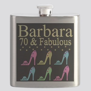 GORGEOUS 70TH Flask