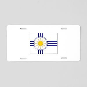 Mormon Flag Aluminum License Plate