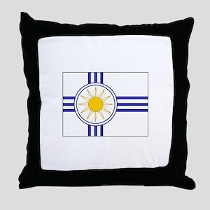 Mormon Flag Throw Pillow