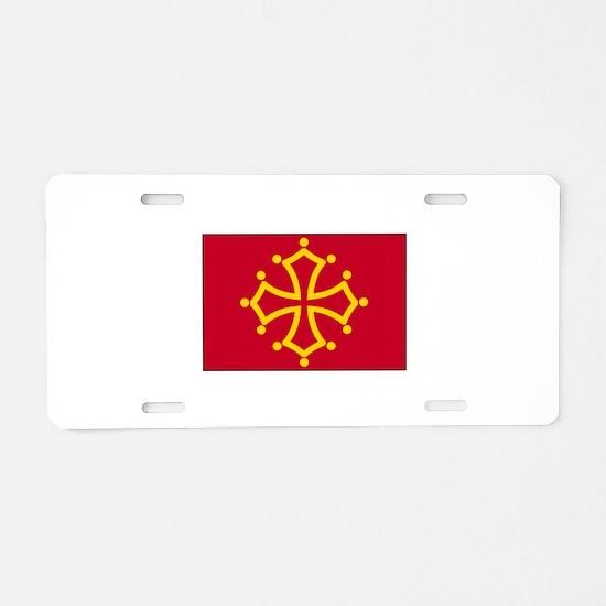 Toulouse, France Aluminum License Plate