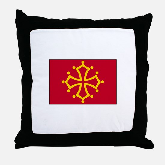 Toulouse, France Throw Pillow
