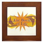 THE BOOK OF LIFE Framed Tile