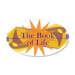THE BOOK OF LIFE Oval Car Magnet
