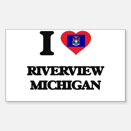 I love Riverview Michigan Decal