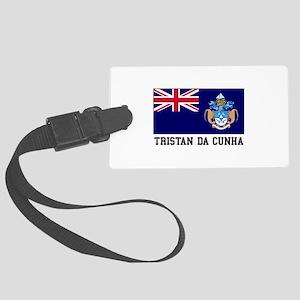 Tristan da Cunha Luggage Tag