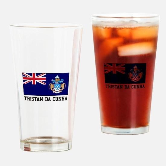 Tristan da Cunha Drinking Glass