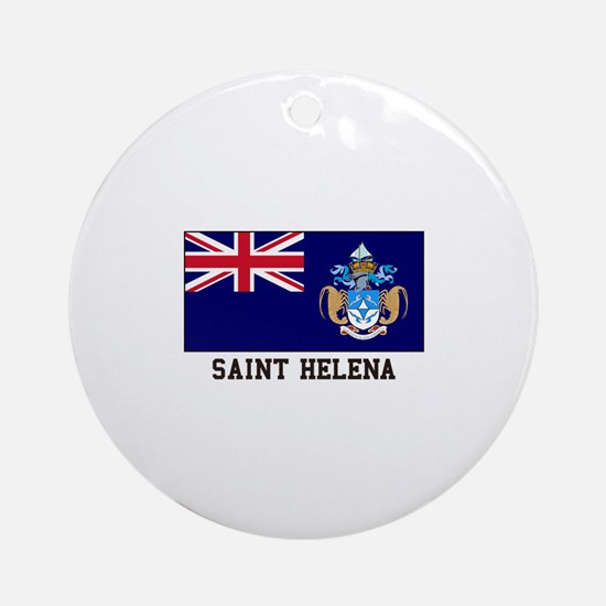 Saint Helena Ornament (Round)