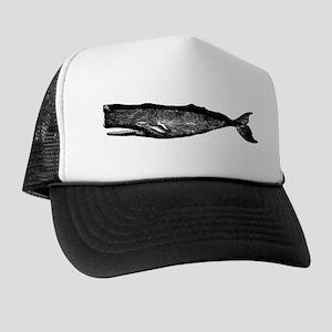 Vintage Whale Trucker Hat