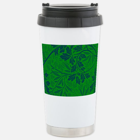 William Morris - Foliag Stainless Steel Travel Mug