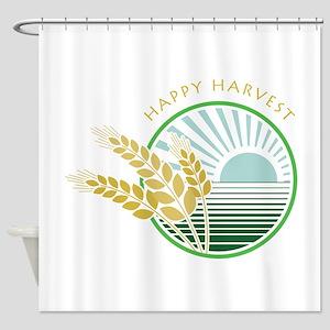 Happy Harvest 160 Shower Curtain