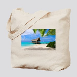 Beach And Bungalow Tote Bag