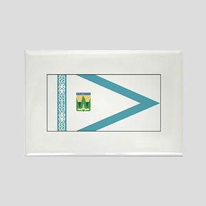 Oskemen Kazakhstan Flag Magnets