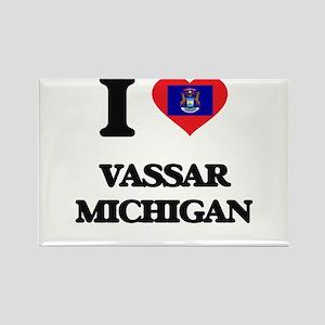 I love Vassar Michigan Magnets