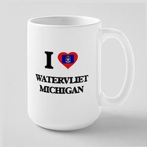 I love Watervliet Michigan Mugs