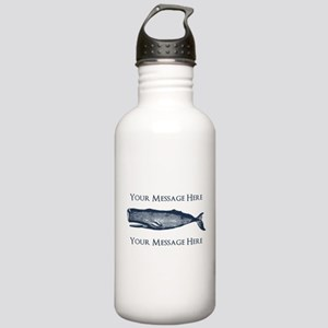 PERSONALIZED Vintage W Stainless Water Bottle 1.0L