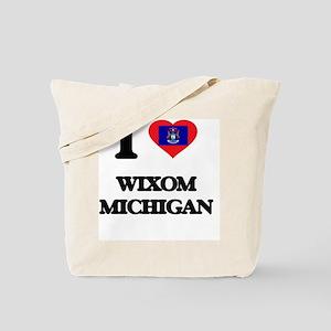 I love Wixom Michigan Tote Bag