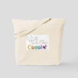 COEXIST DOVE Tote Bag