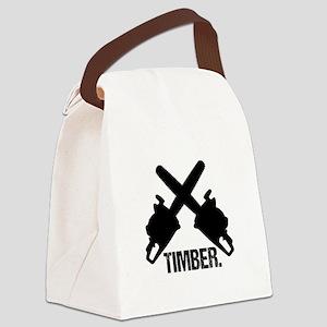 Chainsaws Canvas Lunch Bag