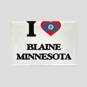 I love Blaine Minnesota Magnets