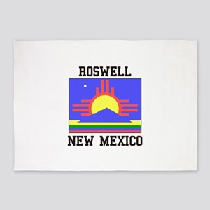 Roswell, New Mexico 5'x7'Area Rug