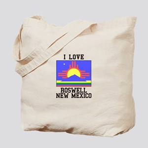 I Love Roswell, New Mexico Tote Bag
