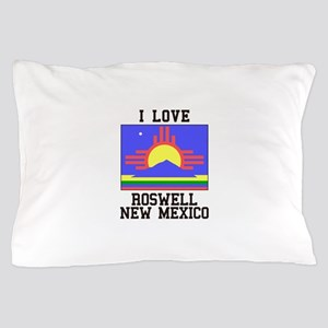 I Love Roswell, New Mexico Pillow Case
